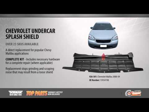 Highlighted Part: Undercar Splash Shield for Select Chevy Malibu Models