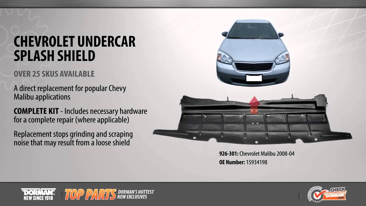 Undercar Splash Shield Youtube