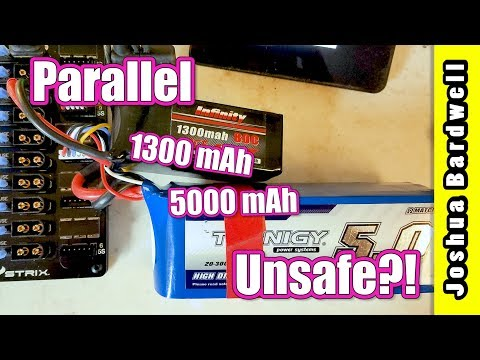 Parallel Charging   CAN YOU MIX DIFFERENT MAh OF BATTERY