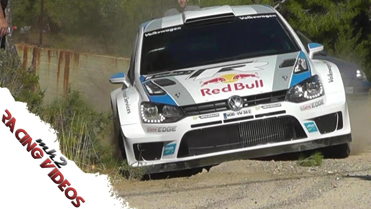 Sebastien Ogier wins World Rally Champion 2013 VW POLO WRC - YouTube