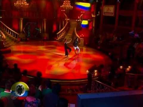 Baile inicial de Colombia: María C Sánchez y Jaime Rincón (Bailando por un Sueño 2CMB 09-05-10)
