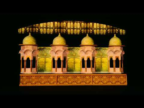 3D Projection Mapping - DigiFest 2018, Bikaner