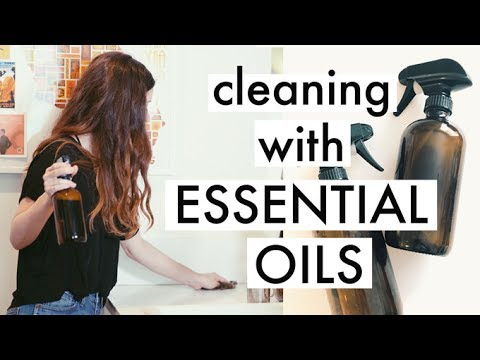 Zero Waste Cleaning Routine | Simple & Natural DIY Recipes With Essential Oils