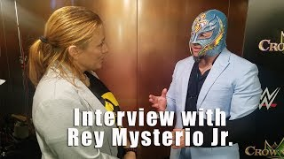 Interview with WWE Superstar Rey Mysterio Jr.