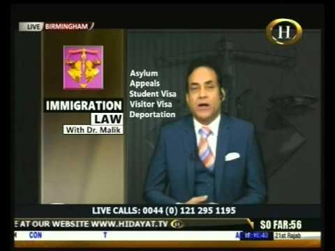 Immigration Law 29 April 2016
