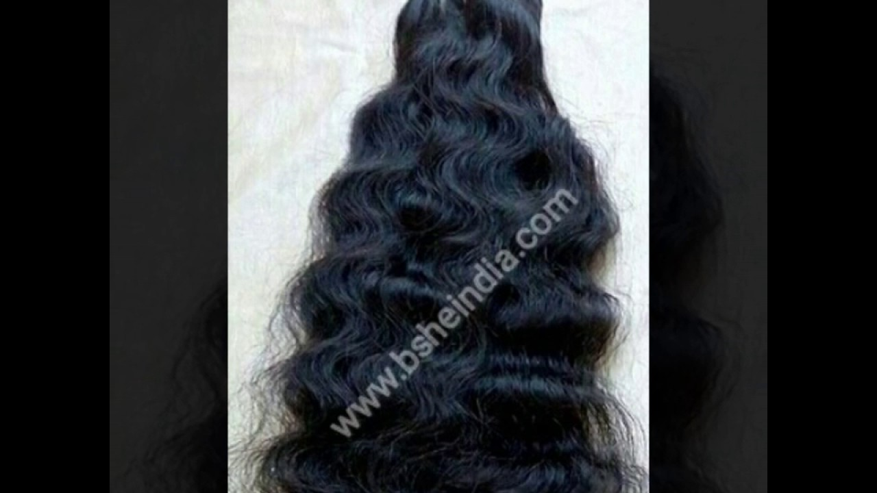 Unprocessed Indian Hair Supplier Raw Indian Temple Hair Hair