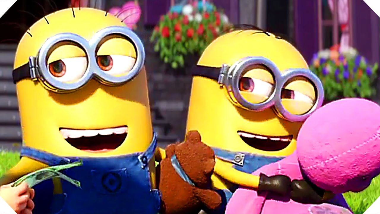 Moi moche et mechant 3 nouvelle bande annonce minions animation 2017 youtube - Mechant minion ...