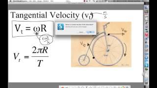 Ch 7 - Circular Motion Lecture 2 - Rotl Kin & Tang. Vel.mp4
