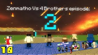 Minecraft animation indonesia Zenmatho Vs 4Brothers episode 2 Herobrine datang!