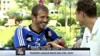 Rafael van der Vaart (HSV) im Interview