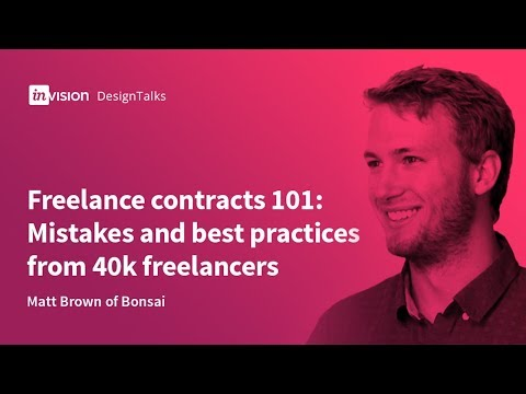 DesignTalk Ep. 66: Freelance contracts 101—mistakes and best practices from 40k freelancers