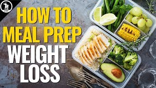 The Best Way to Meal Prep for Weight Loss - Guide For Men