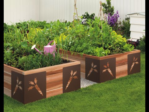 portable garden idea simple and practical