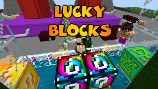 LUCKY BLOCKS | Vegetta VS sTaXx VS Willyrex | SIMPSONS CENTRAL NUCLEAR