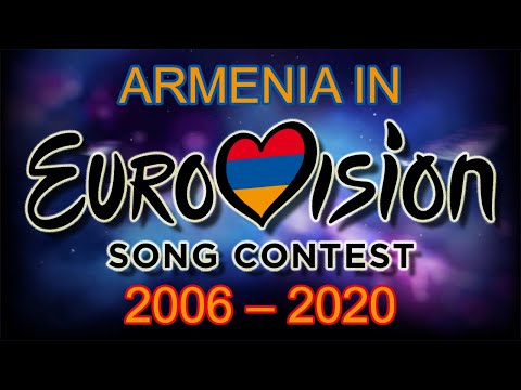 Armenia In Eurovision Song Contest (2006-2020)