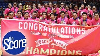 Creamline Cool Smashers Are History Makers | The Score