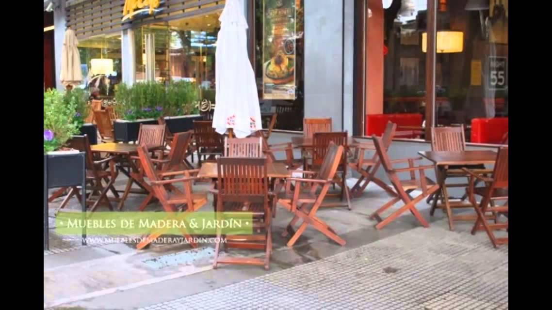 Fabrica y venta de sombrillas - Muebles de madera y jardín - YouTube
