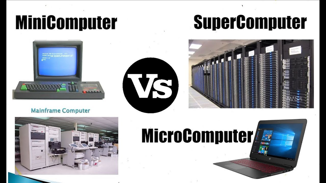 Hindi-हिन्दी] MicroComputer VS MiniComputer VS ...