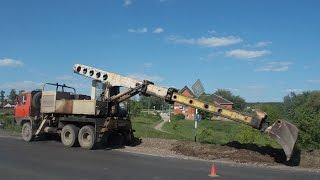 Tatra 815 UDS -114 digging roadside(, 2016-06-08T04:03:41.000Z)