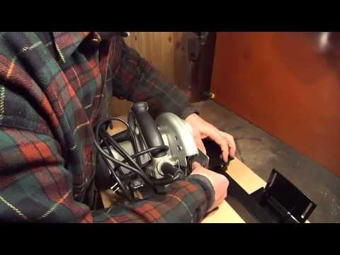 8 Как идеально ровно раскраивать ручной циркулярной пилой по направляющей шине