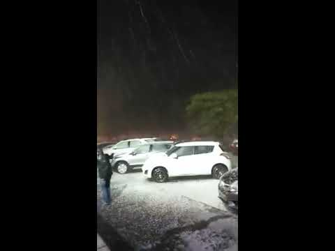 snowfall in Chandigarh