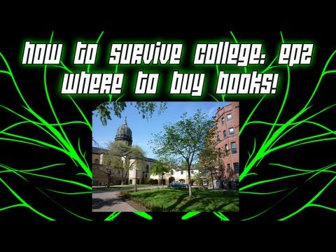 How To Survive College ep. 2 | Where to Buy Books / Selling Books Back | COD MW3