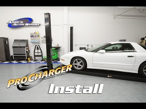 How to Install a Supercharger (Procharger for LT1 Firebird)