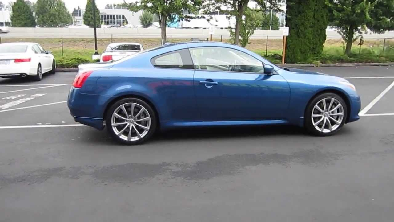 2010 infiniti g37 blue slate stock 731089 youtube 2010 infiniti g37 blue slate stock 731089 vanachro Images