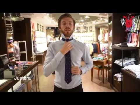 La Chemise lär dig knyta en slips i 4 steg.