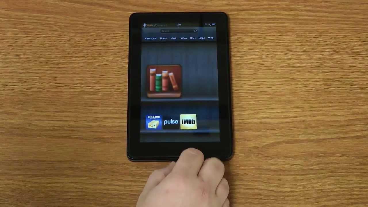 Epub Ebook to Amazon Kindle Fire - YouTube