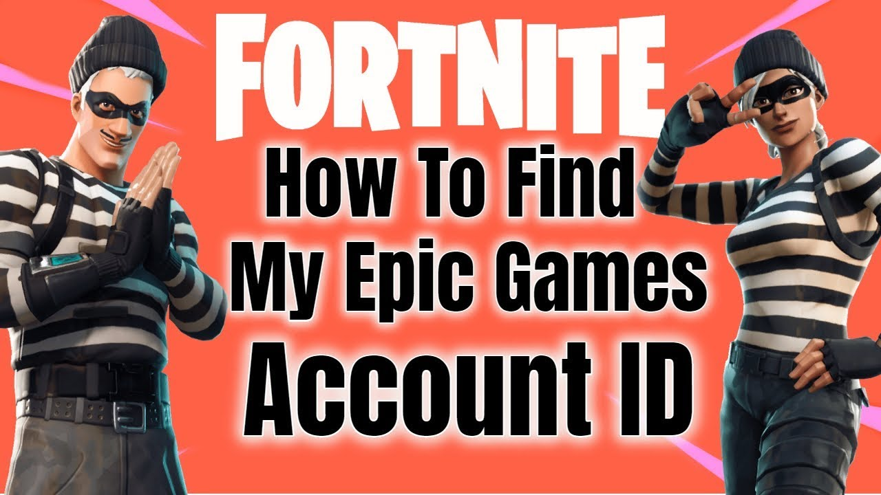 How To Find Your Epic Games Account ID (fortnite) - YouTube