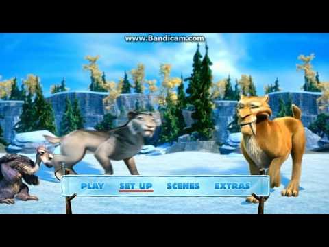 Ice Age 4 2012 DVD Menu Walkthrough
