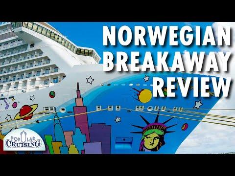 Norwegian Breakaway Tour & Review ~ Norwegian Cruise Line ~ Cruise Ship Tour & Review