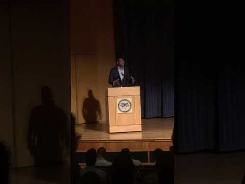 Ta-Nehisi Coates speaks to Corps of Cadets