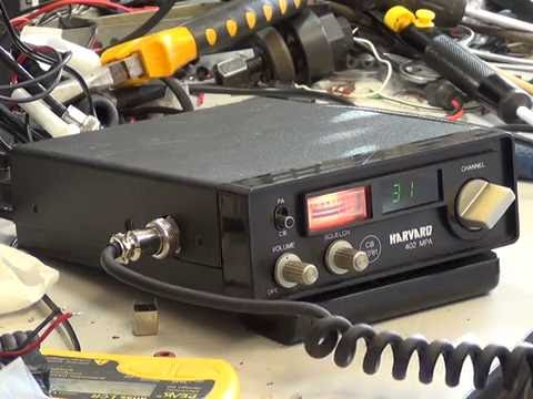Harvard 402MPA (H160) UK (CB27/81) CB Radio (mobile) - On The Air test
