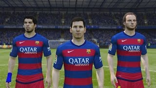 FIFA 15 | FC Barcelona New Home Kit 15/16 Thumbnail