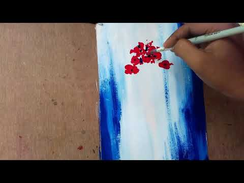 abstract 1 || how to draw abstract painting ||  abstract painting tutorial || utsab sarkar
