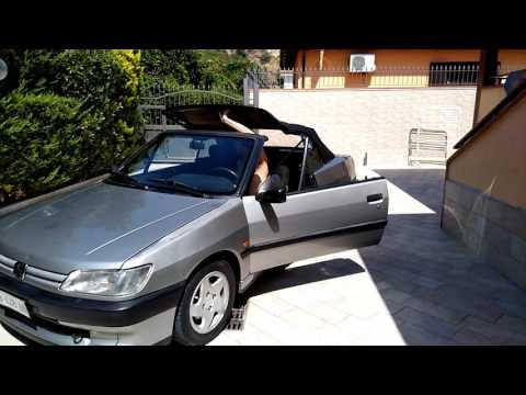 Peugeot 306 cabriolet phase 1 apertura capote
