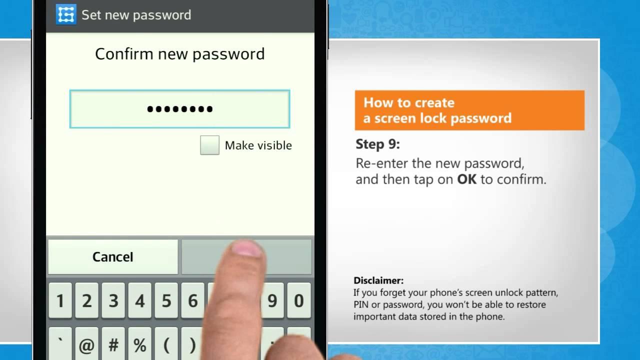 melaleuca com how to create password