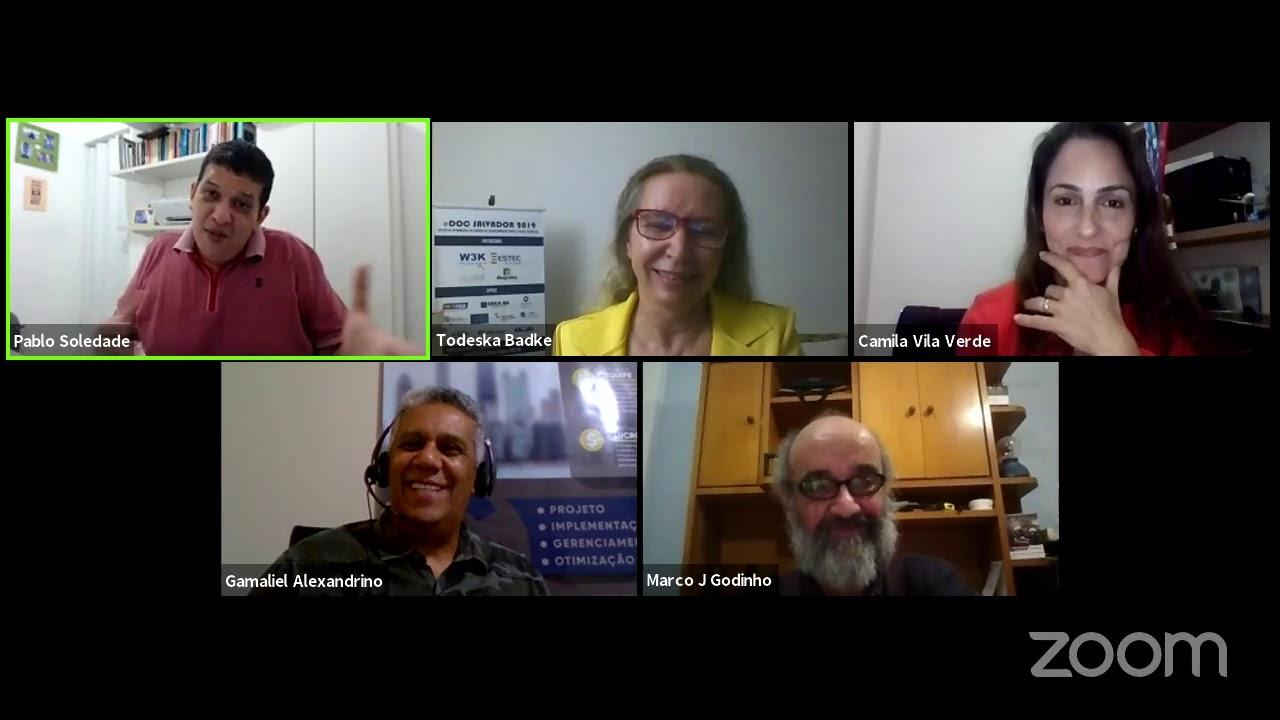 eDoc Talks no YouTube falando de Gestão da Informação