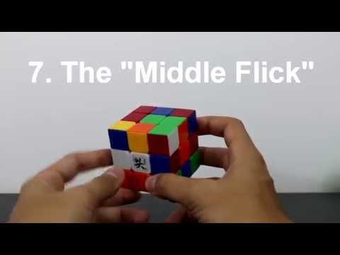 Finger Tricks (3x3 Rubik's Cube) - CFOP Part 1