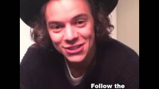 Harry Styles asked a fan to run away with him