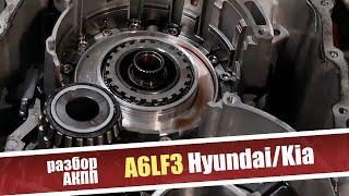 Основные проблемы 6-ступенчатой АКПП A6LF3 Hyundai/Kia. Разбор коробки.