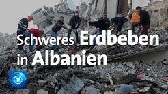 Mindestens 13 Tote bei Erdbeben der Stärke 6,4 in Albanien