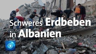 Bei einem schweren erdbeben der stärke 6,4 in albanien sind den frühen morgenstunden mindestens 13 menschen ums leben gekommen. nach offiziellen angaben w...