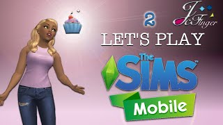 The Sims Mobile 🍰 | LET'S PLAY | PART 2 | ROMANTIC CHAPTER .