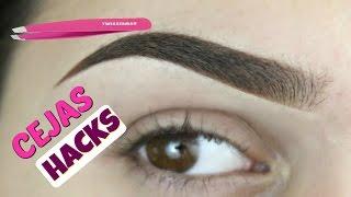 Hacks para las cejas! ...trucos que pueden salvar tus cejas - Jackie Hernandez