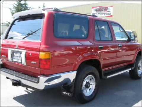 Toyota 4Runner Lifted >> 1993 Toyota 4Runner - Glennwood Wa - YouTube