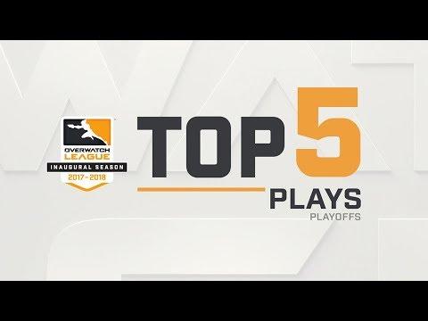 Overwatch League Top 5 Plays - Playoffs