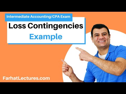 Loss Contingencies Example: Amazon EU Tax Issue | Intermediate Accounting | CPA Exam FAR